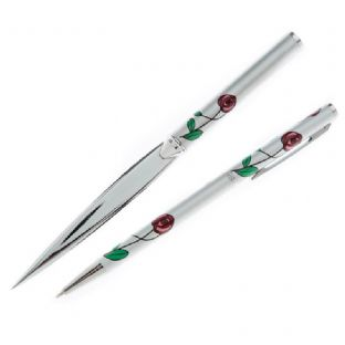 Mackintosh Red Rose Ball Pen & Paperknife